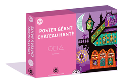 Coffret château hanté - Poster et gommettes - Halloween – 10doigts.fr