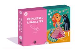 Kit paillettes 3 tableaux princesse