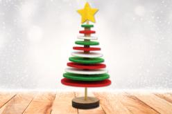 Kit sapin de Noël en feutrine - Kits et Activités de Noël – 10doigts.fr