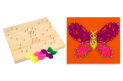 kit string art papillon
