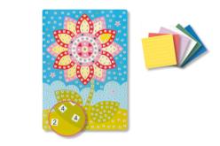 Tableaux en mosaïques en caoutchouc auto-adhésif - Kits créatifs prêt à l'emploi – 10doigts.fr