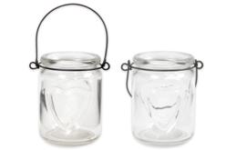 Lanterne cœur en verre - Supports en Verre – 10doigts.fr
