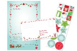 Lettres au pères Noël - Lot de 6  - Kits d'activités Noël – 10doigts.fr