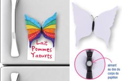Magnets papillon