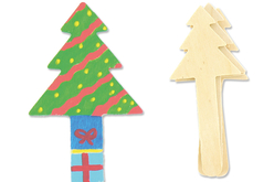 Marque-page Sapins en bois - Marque-pages – 10doigts.fr