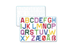 Plaque lettres pour perles fusibles - Plaques perles fusibles 5 mm – 10doigts.fr