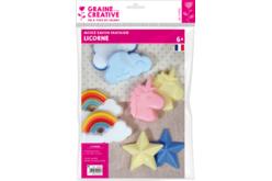 Moule savons thème Licorne- Formes assorties - Moules savon – 10doigts.fr