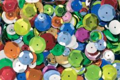 Sequins à facettes - Set de 7200 paillettes - Sequins – 10doigts.fr
