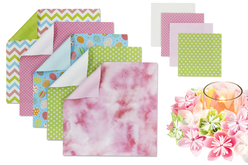 Papier origami fleuri - Set de 170 feuilles - Papier origami – 10doigts.fr