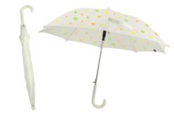 Parapluie blanc à décorer - taille enfant - Opaque – 10doigts.fr