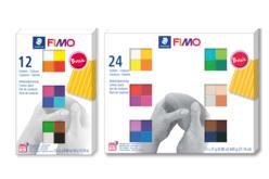 FIMO Kit débutant - Set de 12 ou 24 couleurs Soft assorties - Les kits Fimo – 10doigts.fr
