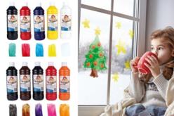 Peinture pour vitres et fenêtres - 500 ml - Peintures Verre et Faïence – 10doigts.fr