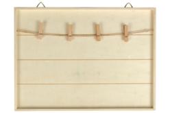 Cadre pêle-mêle en bois 30 cm - Cadres photos – 10doigts.fr