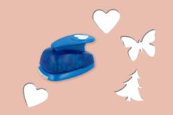 Perforatrices à levier taille XL - découpe : 5 à 5,5 cm - Perforatrices fantaisies – 10doigts.fr