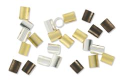 Perles tubes à écraser - Perles à écraser – 10doigts.fr