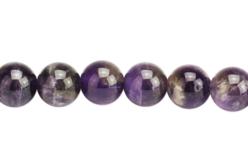 Perles Améthyste - Set de 48 - Perles Lithothérapie – 10doigts.fr