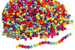 Perles cylindre - 2000 perles - Perles enfants – 10doigts.fr