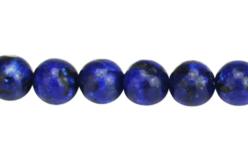 Perles Lapis Lazuli - set de 48 - Perles Lithothérapie – 10doigts.fr