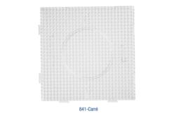 Plaque carrée pour perles fusibles + papier sulfurisé - Plaques perles fusibles 5 mm – 10doigts.fr