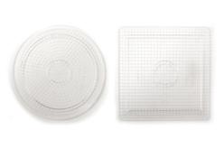 Plaques pour perles fusibles Mini - Set de 2 - Perles Fusibles 2 mm – 10doigts.fr