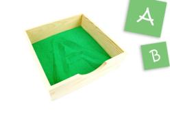Plateau carré en bois - 19 cm - Plateaux en bois – 10doigts.fr