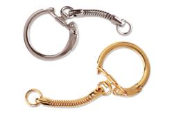 Porte-clefs argentés ou dorés - Porte-clefs, Anneaux, Mousquetons – 10doigts.fr