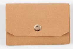 Porte monnaie en papier cuir - Papier Cuir – 10doigts.fr