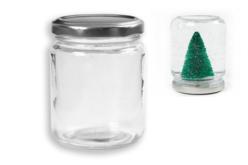 Pot en verre avec couvercle - Verre – 10doigts.fr