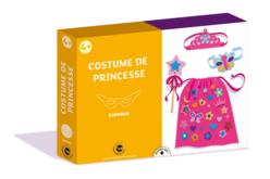Coffret Déguisement - Costume de Princesse - Mardi gras, carnaval – 10doigts.fr