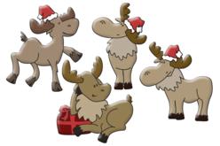 rennes rigolos en bois