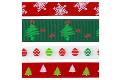 ruban de Noel en tissu