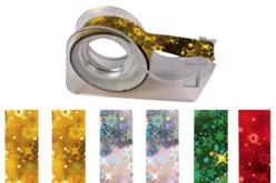 Rubans adhésifs - 6 rouleaux holographiques - Adhésifs – 10doigts.fr