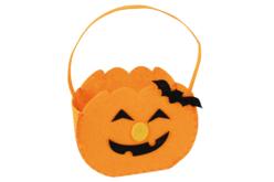 Sac citrouille en feutrine - Halloween – 10doigts.fr