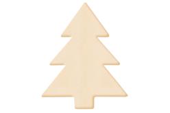 Sapin en bois naturel - Motifs brut – 10doigts.fr
