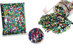 Sequins paillettes rondes - Sachet multicolore - Sequins – 10doigts.fr