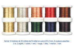Fils aluminium à modeler – 10doigts.fr
