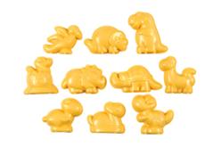 Set de 10 moules dinosaures