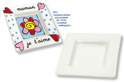 Set de 12 coupelles en porcelaine blanche