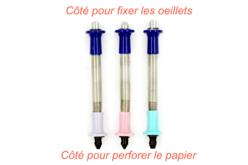 Perforatrices et poseurs d'œillets - Set de 3 - Perforatrices fantaisies – 10doigts.fr