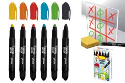 Crayons gras pour vitres et fenêtres - Décoration des vitres – 10doigts.fr