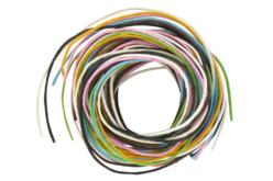Cordons en coton ciré, 8 couleurs assorties - Fils en coton, échevettes – 10doigts.fr