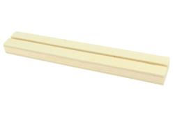 Socle en bois avec une fente - Nouveautés – 10doigts.fr