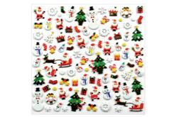 Stickers Noël 3D - 95 stickers - Gommettes Noël – 10doigts.fr