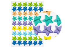 Gommettes Encouragements étoile - 54 pièces - Stickers divers – 10doigts.fr
