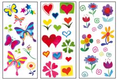 Stickers en plastique pour céramique, verre et métal - Stickers en plastique – 10doigts.fr