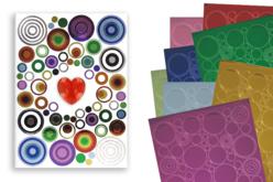 Stickers métallisés à superposer - Super Pack de 1320 - Gommettes géométriques – 10doigts.fr