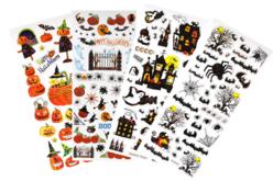 Stickers d'Halloween avec effets métallisés - Halloween – 10doigts.fr