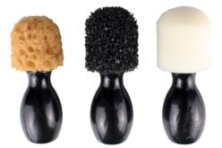 Tampons fantaisie avec manche en bois - Set de 3 - Eponges – 10doigts.fr
