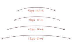 Tiges métalliques pour mobile - Set de 12 - Supports pour mobiles – 10doigts.fr