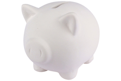 Tirelire cochon en céramique